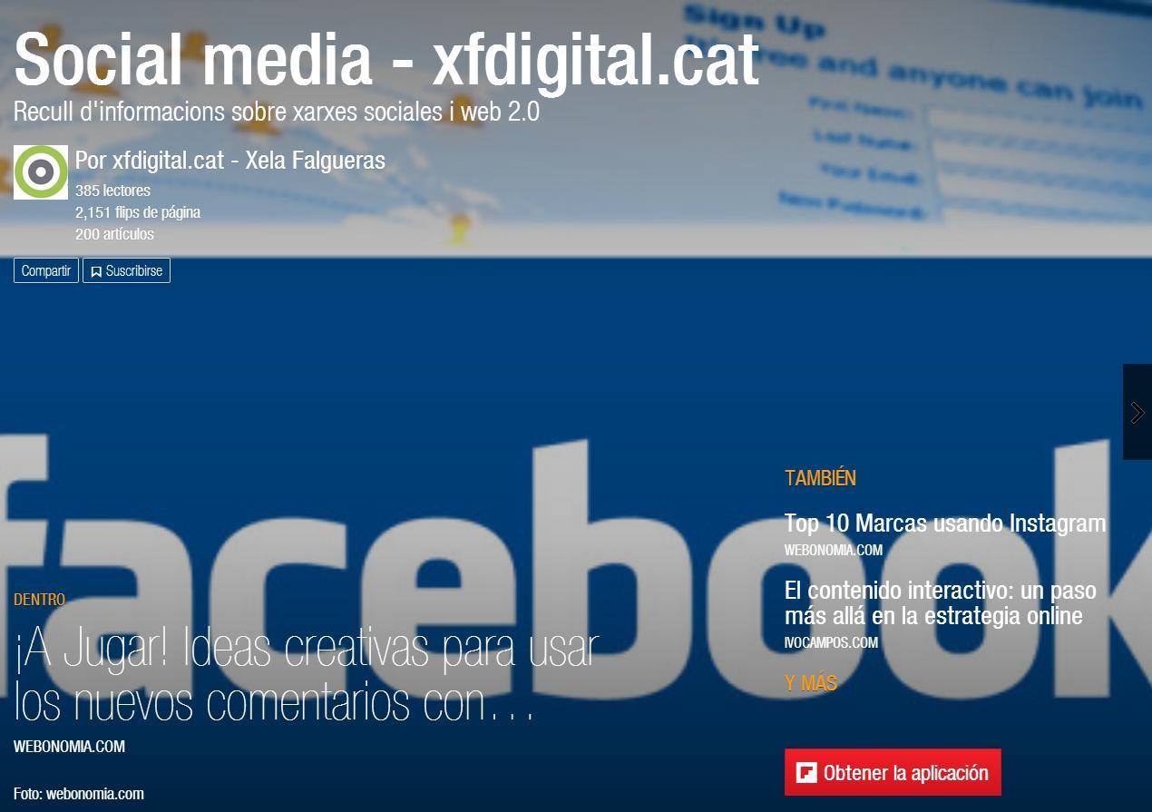 Flipboard Social Media de xfdigital