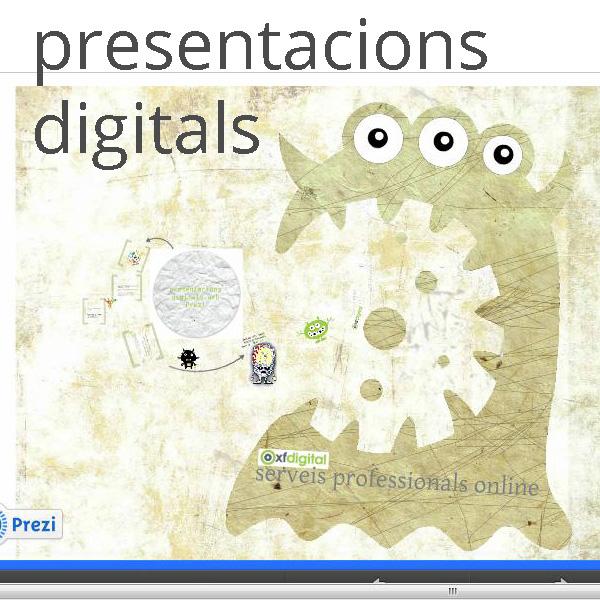 Presentacions digitals - xfdigital